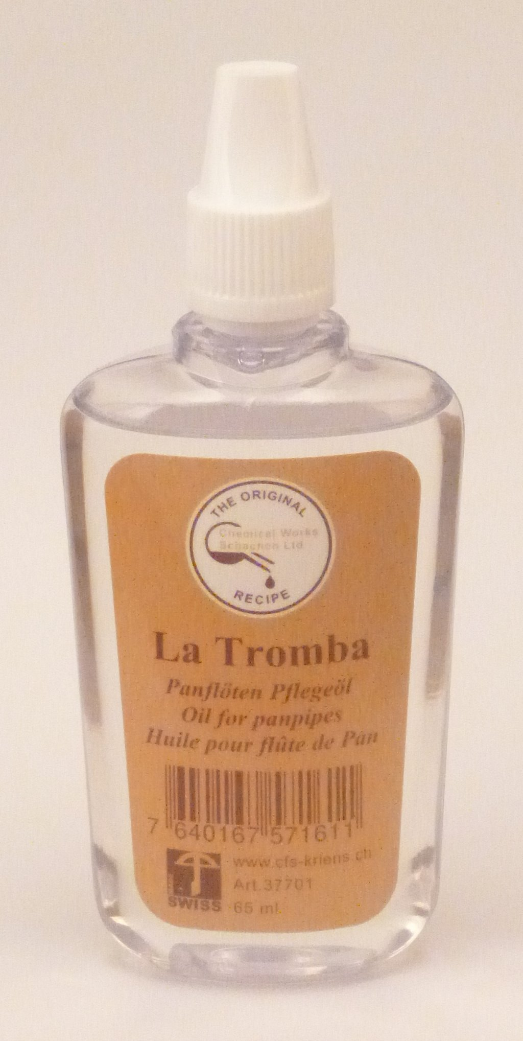 La Tromba Oil for Panpipes