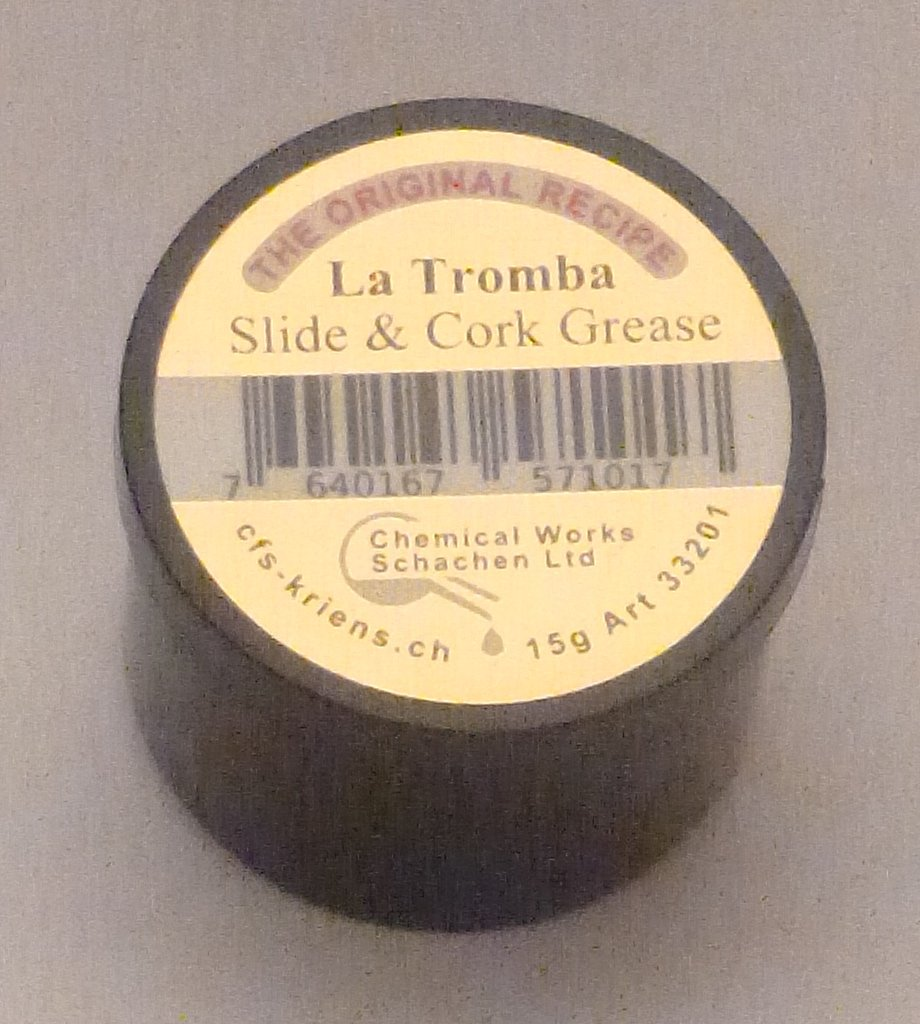 La Tromba Slide and Cork Grease